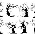 树的集合 — 图库矢量图片