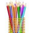Colorful Pencil — Stock Vector