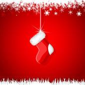 Christmas Stocking — Stock Vector