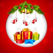 Prezent na Boże Narodzenie — Wektor stockowy