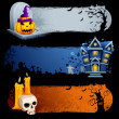 Royalty-Free Stock Imagem Vetorial: Halloween Banner