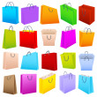 Colorful Shopping Bag — Stock Vector #13645133