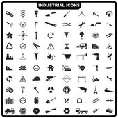 Icono industrial — Vector de stock