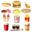 Fast food — Stock Vector #14038294