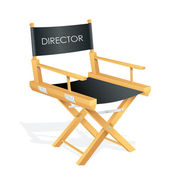 Director Chair — Stock Vector