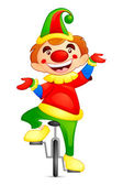 Circus Joker — Stock Vector