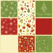 Seamless Christmas Pattern — Stock Vector #15646133