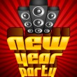 New Year Party - Stock Vector