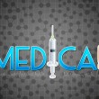 Medical Background — Vettoriale Stock #19366765