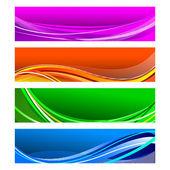 Banner colorido — Vetorial Stock