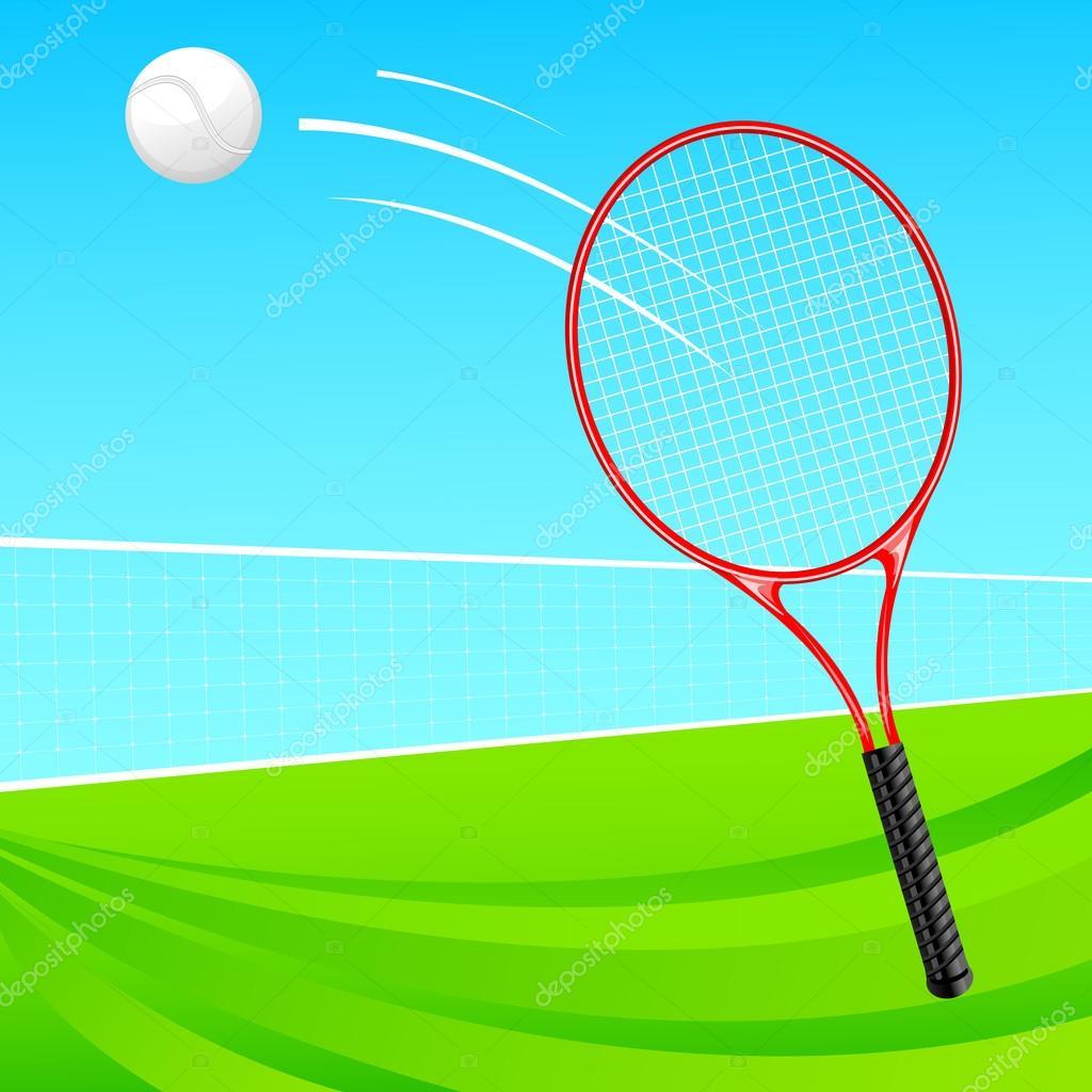 Tenis pelota stock de ilustracion ilustracion libre de stock de - Pelota Y Raqueta De Tenis Vector De Stock 23298376 Ilustraci N