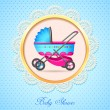 Baby Shower — Vector de stock  #24341801