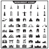 Icône de monument — Vecteur