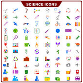 Colorful Science Icon — Stock Vector