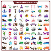 Colorful Transportation Icon — Stock Vector