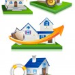 Stock Vector: Home Protection