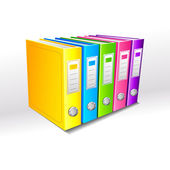 Colorful File — Stock Vector