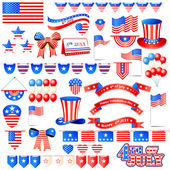 American Independence Day Element — Stock Vector