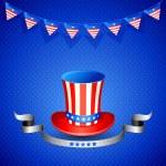 amerykański kapelusz — Zdjęcie stockowe