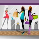 Women doing Shopping — Stock Vector #26468883
