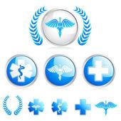 Símbolo médico — Vector de stock