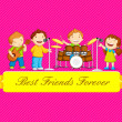 Stock Vector: Friendship Day