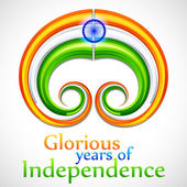 Independence day of India — Stock Vector