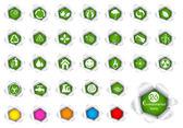 Environment Icon — Stock Vector