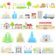 Stock Vector: Building