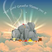 Lord Ganesha — Stok Vektör