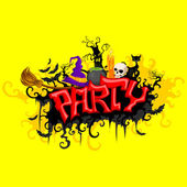 Halloween Party — Stockvector