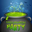 Halloween Party — Stock Vector #32021205