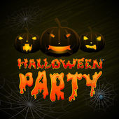 Fiesta de halloween — Vector de stock