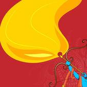 Rama killing Ravana in Dussehra — Stock Vector