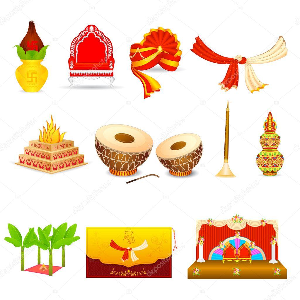 Indian wedding logo design samples