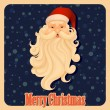 Santa Claus in Merry Christmas — Stock Vector