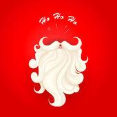 Santa Claus in Merry Christmas — Stock Vector