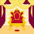 Stock Vector: Royal Throne
