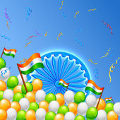 India Background — Stock Vector