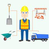 Construtor — Vetorial Stock