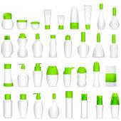Makeup cosmetic bottle — Stock Vector