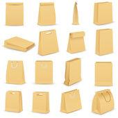 Paper Bag — Stock Vector