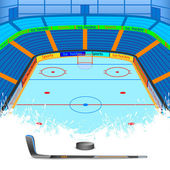 Ice Hockey — Stock Vector