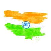 Indian Flag — Vector de stock