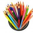 Various color pencils — Stock Photo