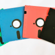 Old diskette 5 25 inches — Stock Photo
