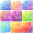 Watercolor art hand paint background — Stock Photo
