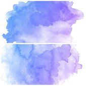 Colorful water color art — Stock Photo