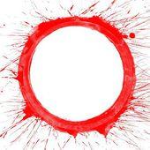 カラフルなスプラッシュ円 — ストック写真