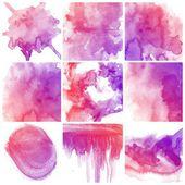 Abstract water kleur kunst — Stockfoto